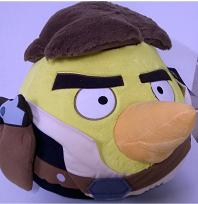 ANGRY BIRDS STAR WAR HAN SOLO 40CM